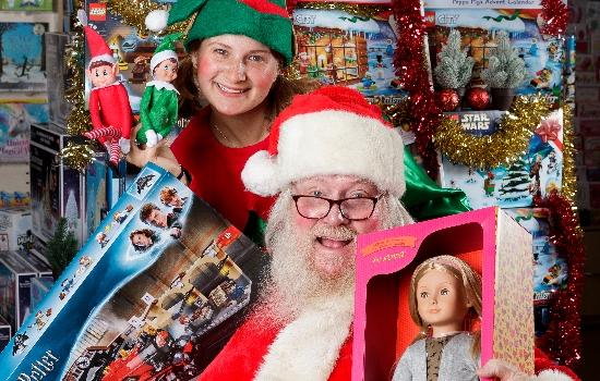 Elves and Santa PR