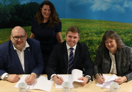 Waste Contract Signing