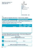 Canvass Communication A Form. Is the electoral information correct on this form?