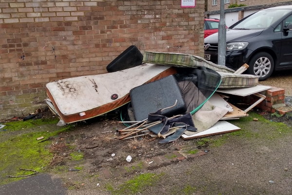 Fly-tipping landlord given £445 fine