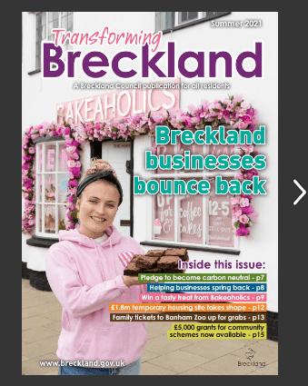 Transforming Breckland - Summer 2021 Issue