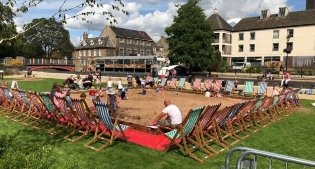 """Image representing Thetford Events """"On the Green"""""""