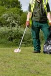 litter picking photo