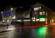 Thetford Riverside leisure complex - evening