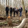 Image representing 09/03/17: Councillors view improvement work at Thetford County Wildlife Sites