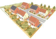 Mileham homes development - artist's impressions