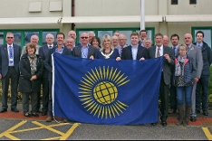 Commonwealth flag raising 2018