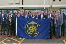 Commonwealth flag raising 2018